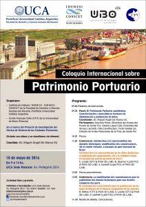 Patrimonio Portuario mayo 2016